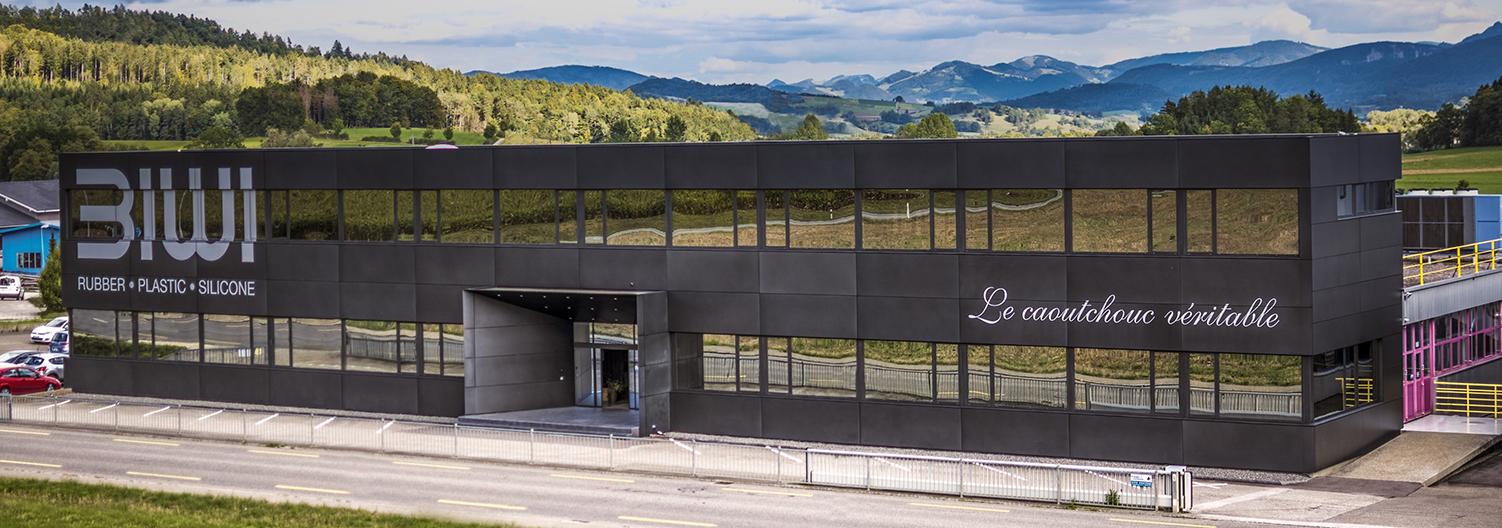 BIWI swiss made rubber Glovelier Jura Suisse